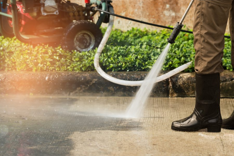 Power Washing Ashbourne